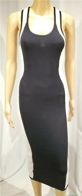 New 2b Bebe Black And White Side Panel Bodycon Dress - NWOT - Size XS Side Panel Dress