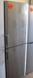 Stainless Beko frost free Fridge freezer 6 foot 2 high x 60cm