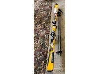 Salomon L179 ski's with poles & bag