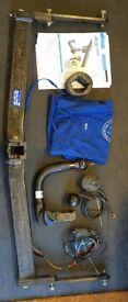 Seat Leon ST detachable swan neckTow Bar with Electrics and Fitting Instruction Bypass relay