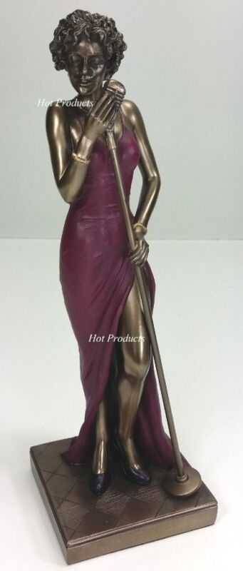JAZZ BAND COLLECTION - FEMALE MUSIC SINGER Home Decor Statue Sculpture Figurine