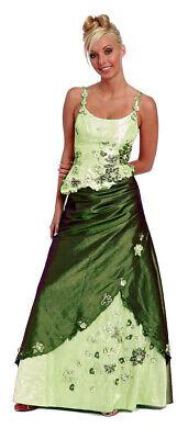 Ballkleid Abendkleid zweiteilig Outcropping a on ice b in a shambles Corsage Brautmutter hellgrün Taft Gr.44 NEU