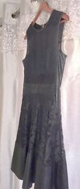 13. Black lacy dress - size 12 - Coast - Asking Price £40 ono