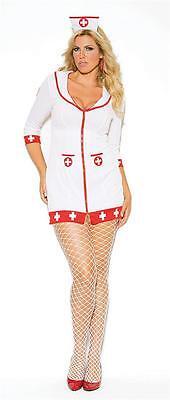 Cardiac Arrest Nurse Plus Size Elegant Moments Costume Halloween Cosplay 99001X - Plus Size Nurse Halloween Costumes