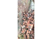 Old vintage red bricks FREE!