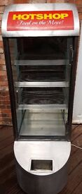 COMMERCIAL ELECTRIC HEATED FOOD DISPLAY PIE CABINET