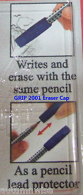 New 32x Faber-castell Grip 2001 Eraser Caps Pencil Lead Protectors
