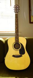 Acoustic Guitar Fender CD-60 Good Quality