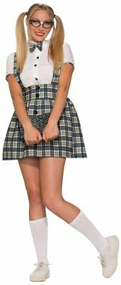 Womans Adult NERD GIRL Dress 1950s Style Costume Accessory XSmall - 1950's Style Halloween Costumes