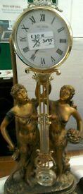Clock with ladies #30976 £10