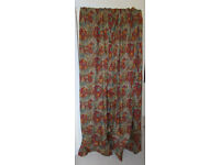 Pair of Lush Red Curtains in excellent condition
