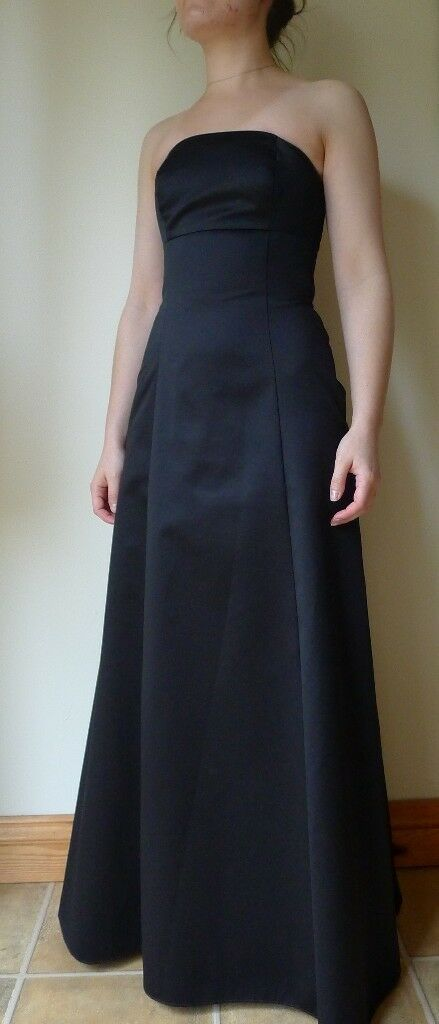 DEBENHAMS Black Tie Christmas Prom Formal Evening Dress Long ...