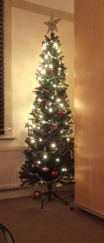 6ft slim Christmas tree