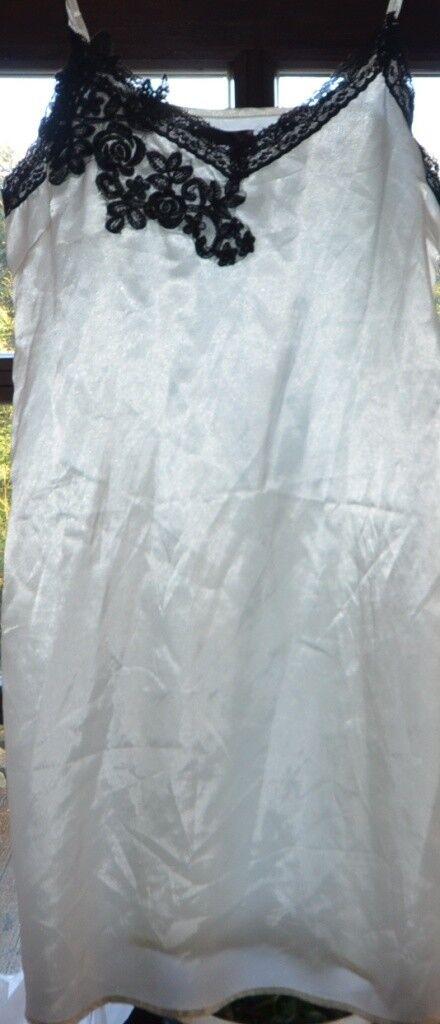 Nylon-Unterkleid Gr. 3,Glanz-Satin, Blue Passion Damenunterwäsche ></noscript> Unterröcke