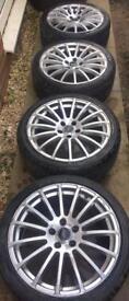 "18"" JFR Wheels w/ 5mm Tyres: 5x114.3"