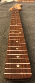 Riks Guitar Neck - Quilted Maple - A piece of history!