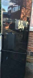 Hotpoint Fridge freezer black colour free delivery
