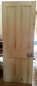 3 pine doors reasonable condition available in Worthing area