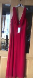 Red Formal Dress Size 14/16 - bought in Australia for Gala Ball which was cancelled, never worn