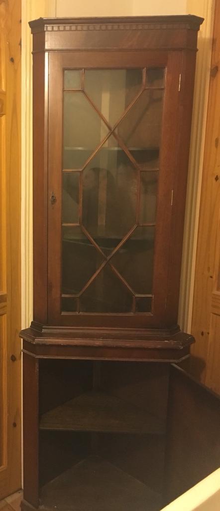 Vintage Corner Cabinet / Unit