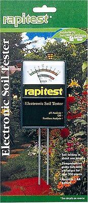 Luster Leaf 1860 Rapitest Soil Plant Garden Ph Npk Sensor Meter Tester Test