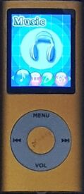 GOLD PORTABLE MP3 PLAYERSTILL IN PERFECT WORKING CONDITION