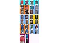Huge Bundle of Boys Clothes 67 items - Age Range 9-12yrs