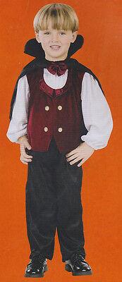Vampir 2T Kleinkind Kostüm Suave Gothik Jungen Dracula Halloween Twilight (Vampir Kind Kostüme)