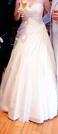 Stunning Ivory Demetrios Wedding Dress Size 12