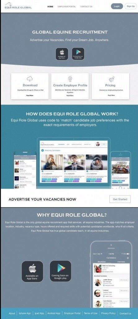 NEW Global Equine Industry Recruitment app