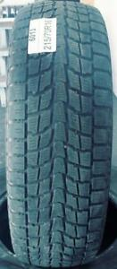 PNEUS HIVER USAGÉS / USED WINTER TIRES 215/70R16 21570R16 DUNLOP STUDLESS GRAND TREK SJ6 (2 DE DISPONIBLES)