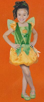 PUMPKIN PIE 2T COSTUME Toddlers Girls Halloween Fairy Wings Child Dress Cute NEW