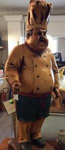 Chef Man Statue