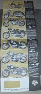PUCH PROSPEKT 1956 MS 50L RL 125 175 250 SGS SGA SVS SV OLDTIMER SAMMLER