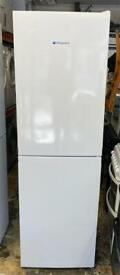 Hotpoint fridge freezer height is 190 cm and width is 60 cm very nice like new beautiful condition