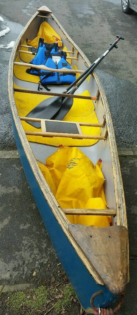 Open Canoe - Mad River Freedom 16' with paddles, bouyancy aids, and air  bags    in Thornbury, Bristol   Gumtree