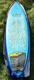 Channel Island Al Merrick Rob Machado single fin Surfboard