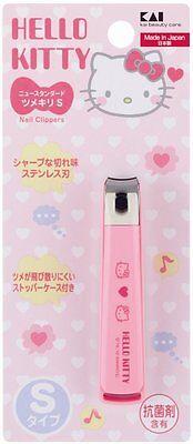 KAI Nail Clippers Hello Kitty Japan New Standard Nipper S