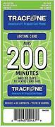 Tracfone Airtime Card