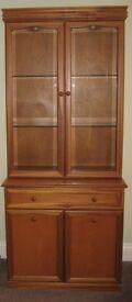 Sutcliffe Trafalgar Teak Dresser / Display Unit / China cabinet