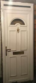UPVC FRONT DOOR INCLUDING FRAME & ACCESSORIES