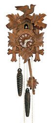 DOLD 1-16, 5 Leaves & 1 Bird, 1 Day German Cuckoo Clock