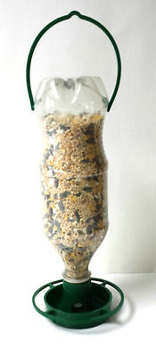 Gadjit Soda Bottle Hanging Wild Bird Feeder Kits (Green) Pack of 2 Free Shipping