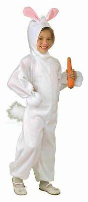 Pascua Disfraz Conejo Infantil Animal Conejito Cola Capucha Niña para Niños
