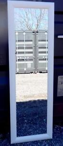 IKEA FULL LENGTH MIRROR - White Thick Frame - Like New - Oakville 905 510-8720