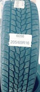 PNEUS HIVER USAGÉS / USED WINTER TIRES 205/65R16 20565R16 TOYO OBSERVE G-02 PLUS