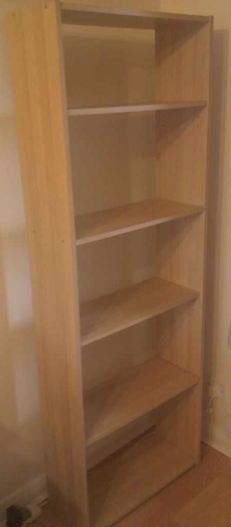 Bookcase 4 Shelves Beechwood Ikea Flarke Series