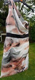 LIPSY ONE SHOULDER DRESS size 8