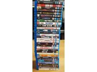 Blu Ray bundle 32 titles thriller comedy kids action