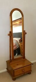 Ducal Cheval Mirror